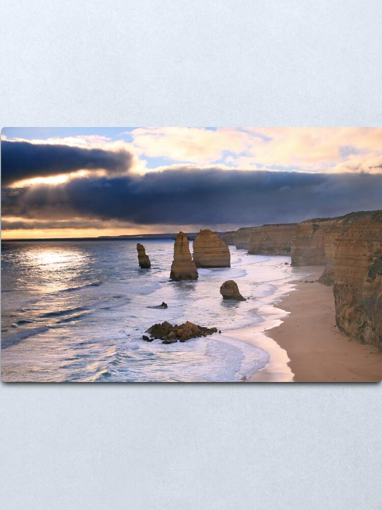 "Alternate view of ""The Twelve Apostles"" Sunset, Great Ocean Rd, Australia Metal Print"