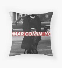 OMAR Throw Pillow
