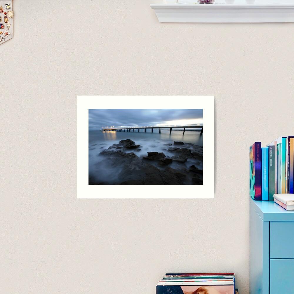 Lorne Pier Pre-Dawn, Great Ocean Road, Australia Art Print