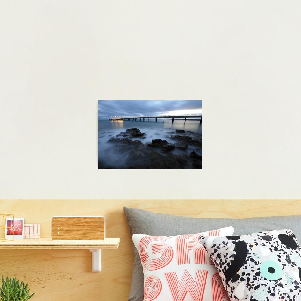 Lorne Pier Pre-Dawn, Great Ocean Road, Australia Photographic Print