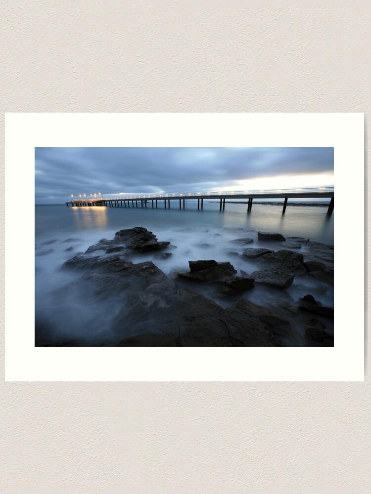 Alternate view of Lorne Pier Pre-Dawn, Great Ocean Road, Australia Art Print
