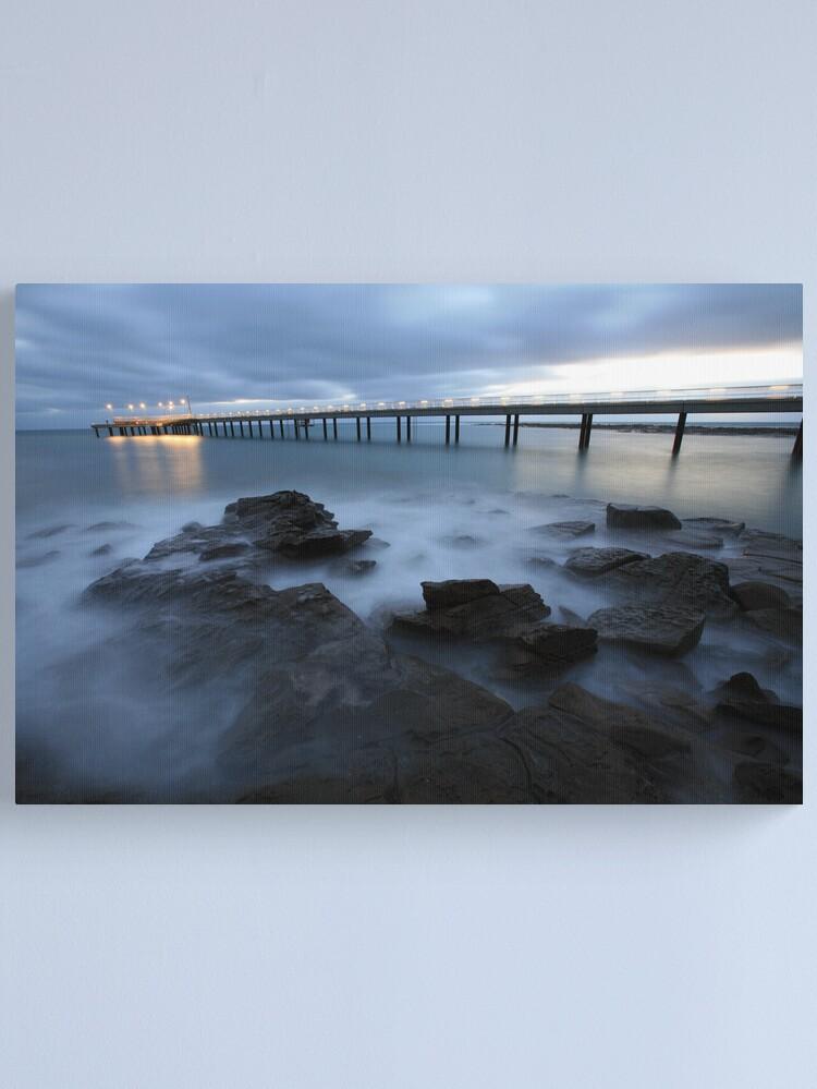 Alternate view of Lorne Pier Pre-Dawn, Great Ocean Road, Australia Canvas Print