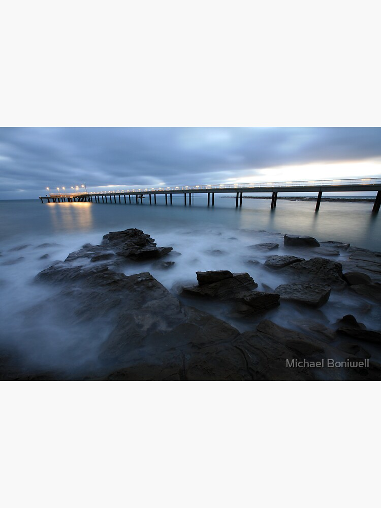 Lorne Pier Pre-Dawn, Great Ocean Road, Australia by Chockstone