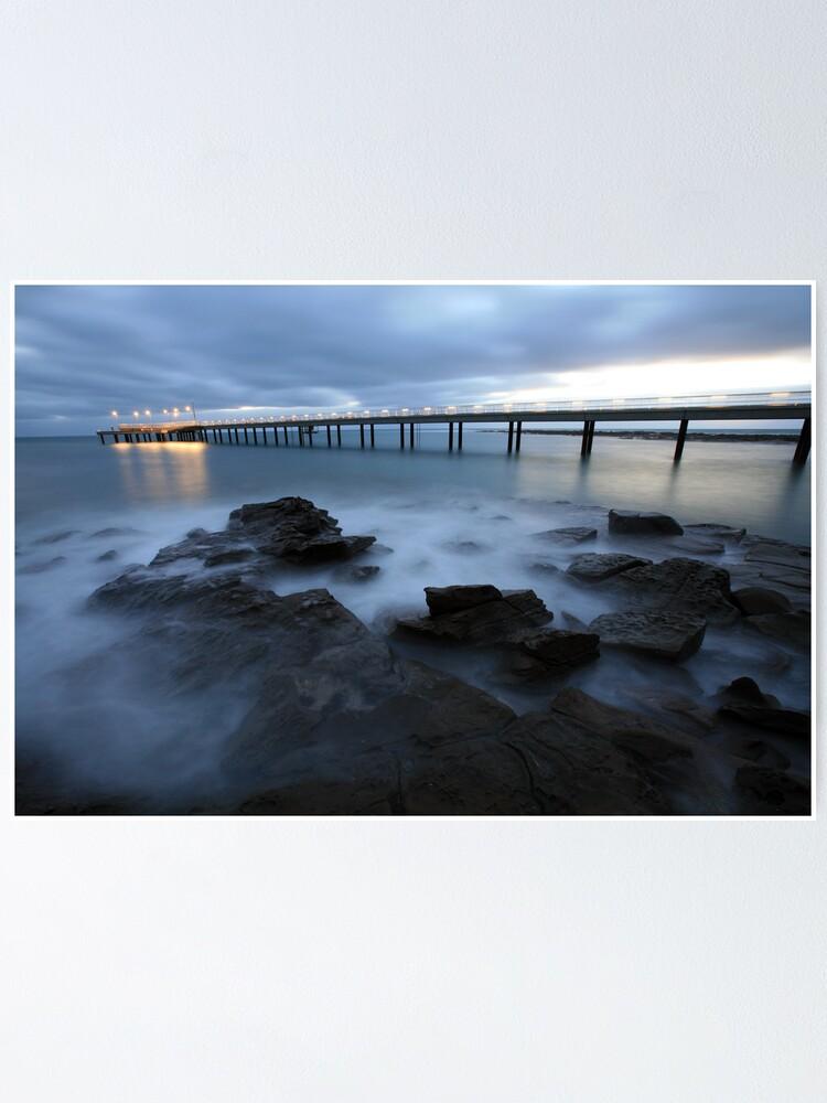 Alternate view of Lorne Pier Pre-Dawn, Great Ocean Road, Australia Poster