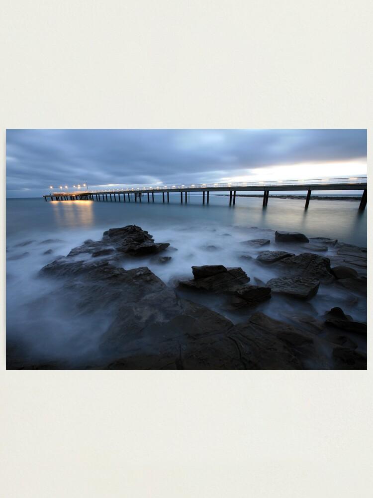 Alternate view of Lorne Pier Pre-Dawn, Great Ocean Road, Australia Photographic Print