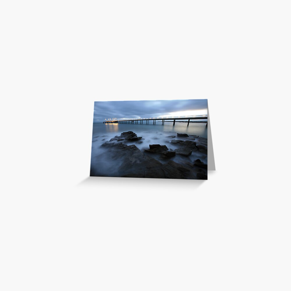 Lorne Pier Pre-Dawn, Great Ocean Road, Australia Greeting Card