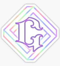 gfriend parallel logo Sticker