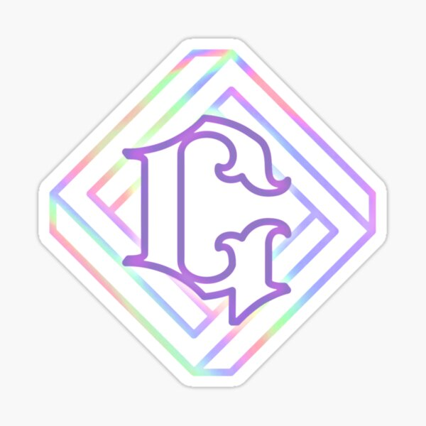 logotipo paralelo de gfriend Pegatina