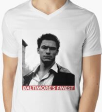 JIMMY MCNULTY Men's V-Neck T-Shirt