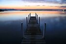 Fisherman's Paradise - Mallacoota before dawn, Australia by Michael Boniwell