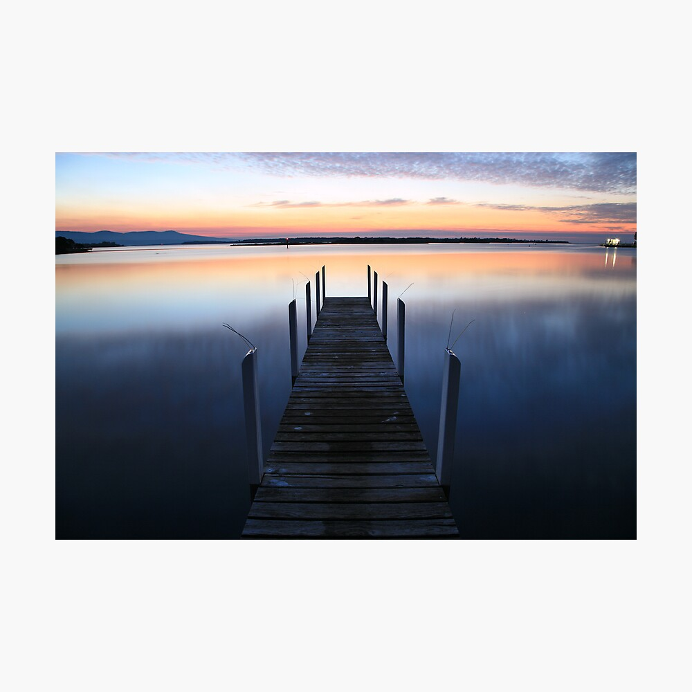 Fisherman's Paradise - Mallacoota before dawn, Australia Photographic Print