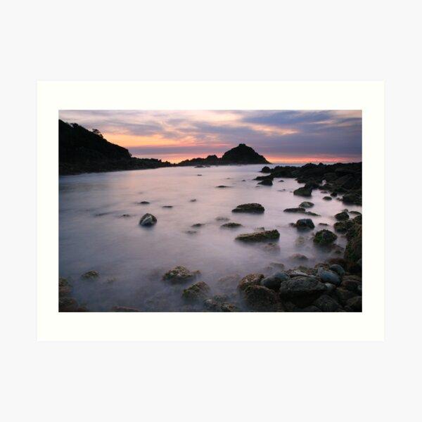 Pre-dawn, Mimosa Rocks National Park, Australia Art Print