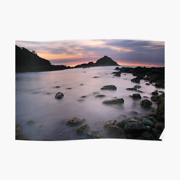 Pre-dawn, Mimosa Rocks National Park, Australia Poster