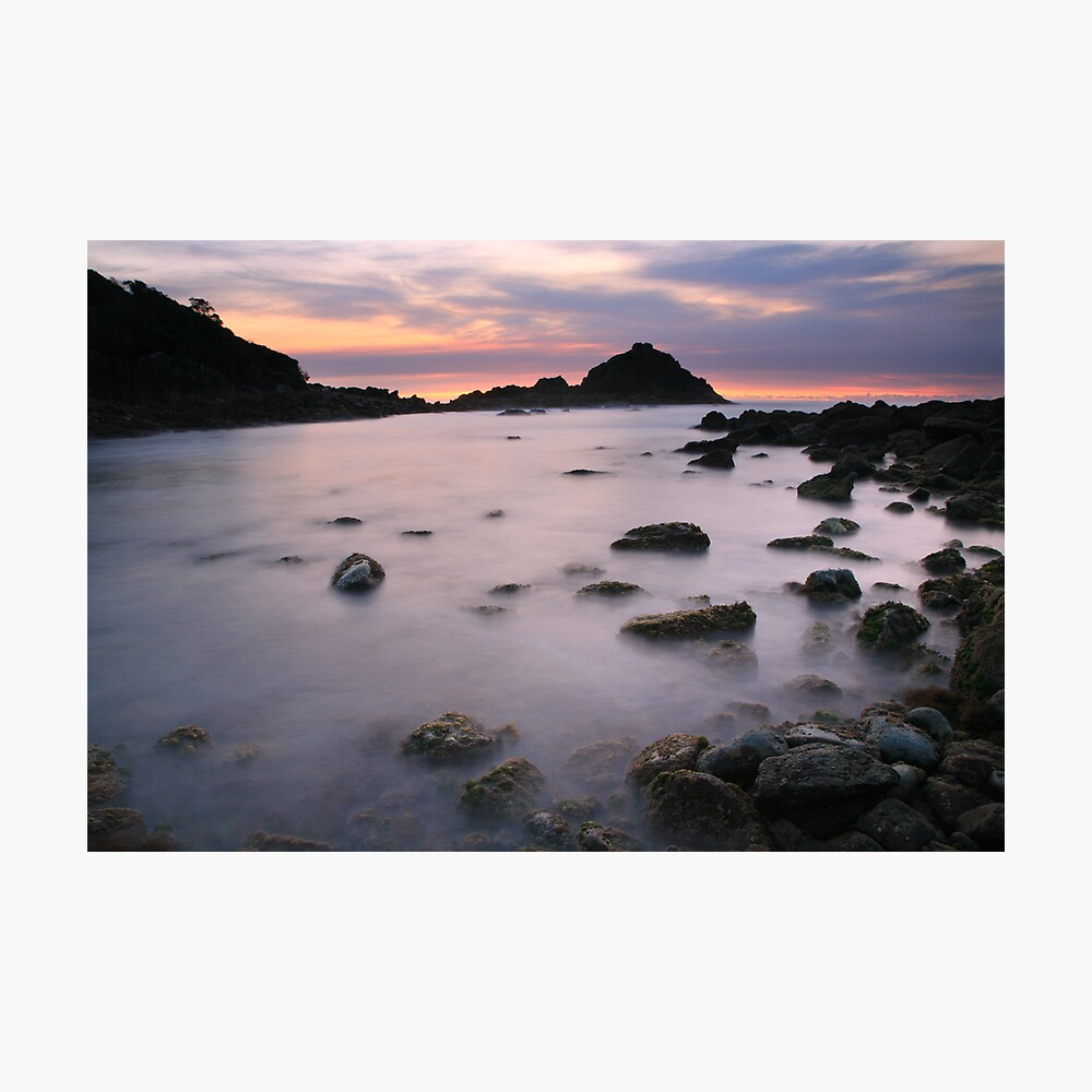 Pre-dawn, Mimosa Rocks National Park, Australia Photographic Print
