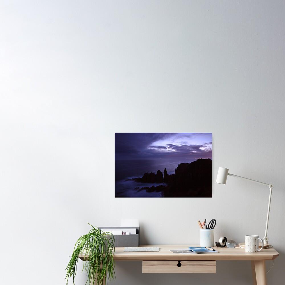 The Pinnacles at Dusk, Philip Island, Australia Poster