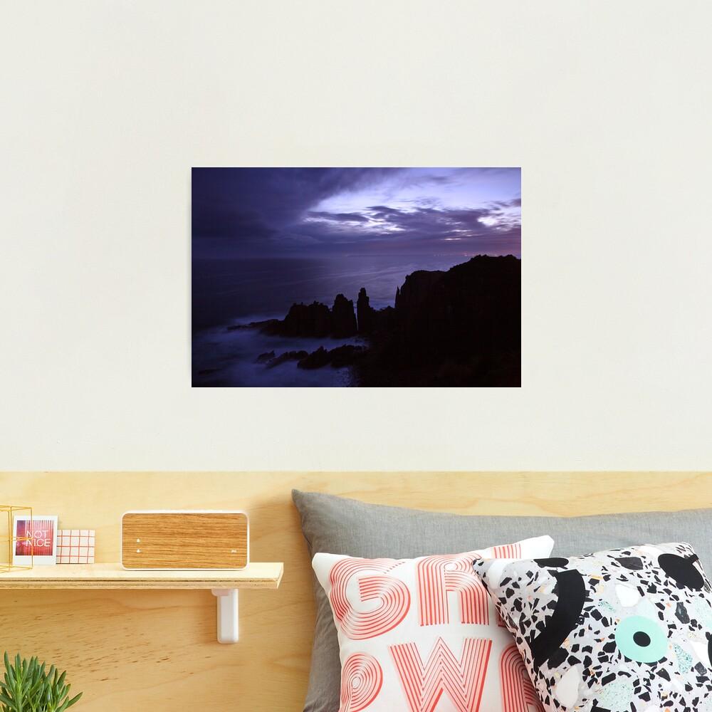 The Pinnacles at Dusk, Philip Island, Australia Photographic Print