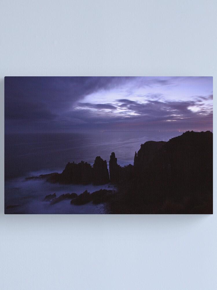 Alternate view of The Pinnacles at Dusk, Philip Island, Australia Canvas Print