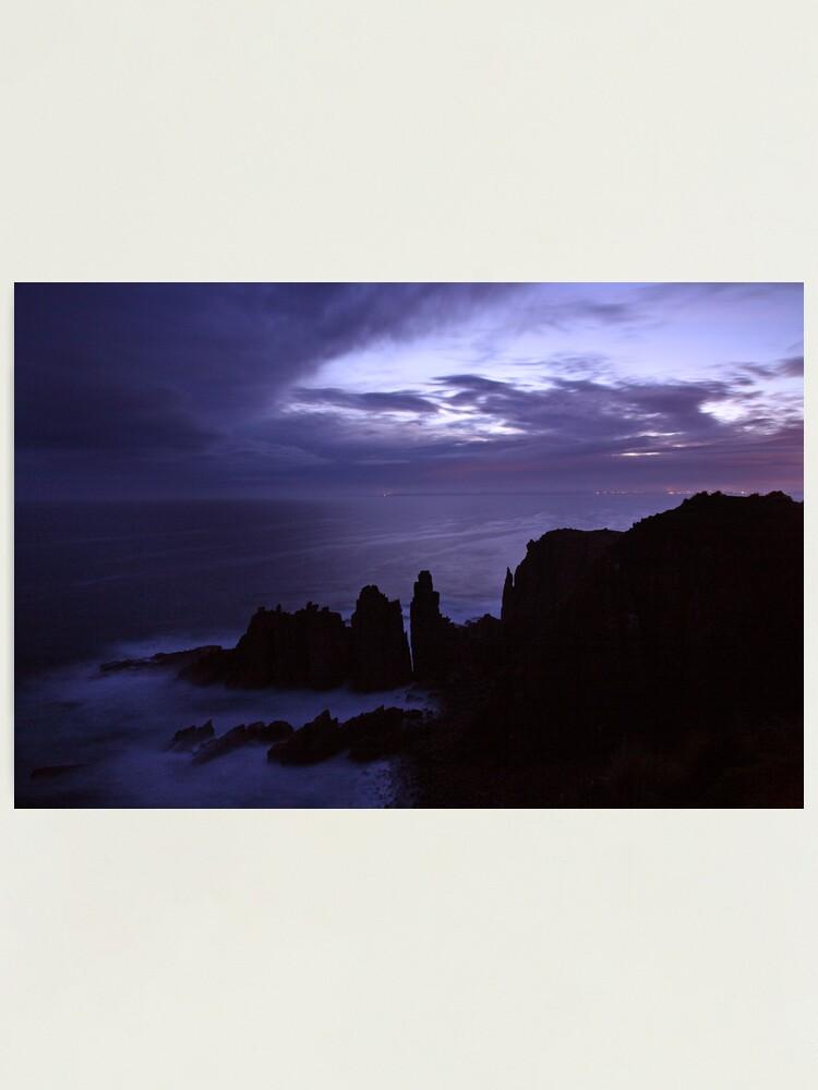 Alternate view of The Pinnacles at Dusk, Philip Island, Australia Photographic Print