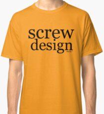 screw design Classic T-Shirt
