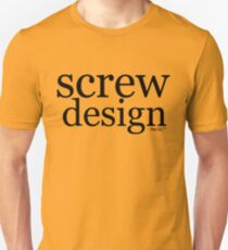 screw design T-Shirt