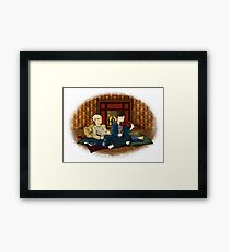 Perfect Waste of Time Framed Print