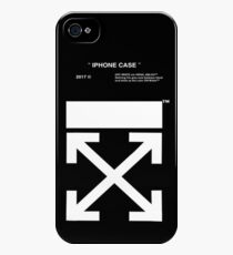 black white off iPhone 4s/4 Case