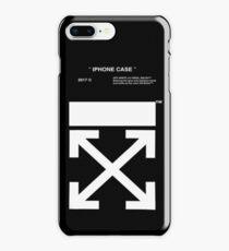 black white off iPhone 8 Plus Case