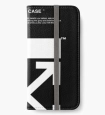black white off iPhone Wallet/Case/Skin
