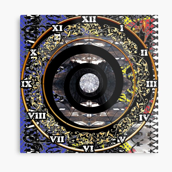 Science fiction,  speculative fiction, imaginative concept, futuristic science,  futuristic technology,  space travel, time travel, faster than light travel Metal Print