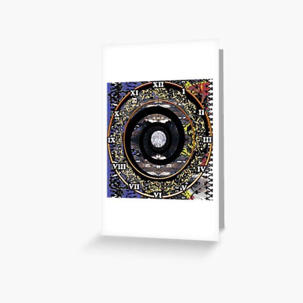 Science fiction,  speculative fiction, imaginative concept, futuristic science,  futuristic technology,  space travel, time travel, faster than light travel Greeting Card