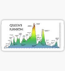 Queen's Ransom Bikepacking Route Sticker