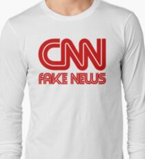 CNN Fake News Long Sleeve T-Shirt