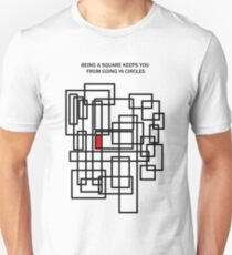 Being a square Unisex T-Shirt