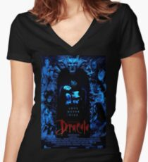 Dracul's True Form Women's Fitted V-Neck T-Shirt