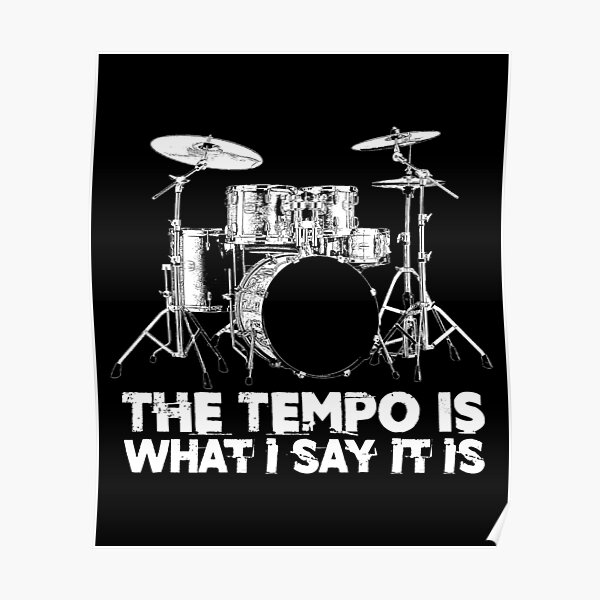 Drum Posters Redbubble