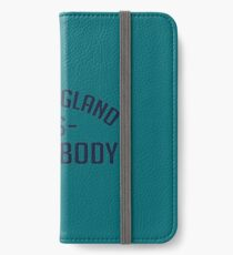 NEW ENGLAND iPhone Wallet/Case/Skin