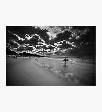 Black and White Interpretation Photographic Print
