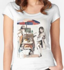 Office Lady Women's Fitted Scoop T-Shirt