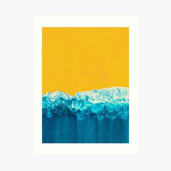 Yellow Tide Art Print