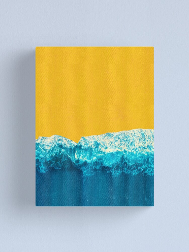 Alternate view of Yellow Tide Canvas Print