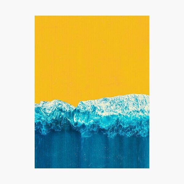 Yellow Tide Photographic Print