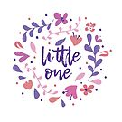 Little One Floral Wreath by latheandquill