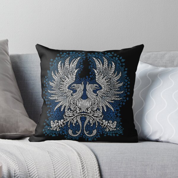 Commander of the Grey Throw Pillow