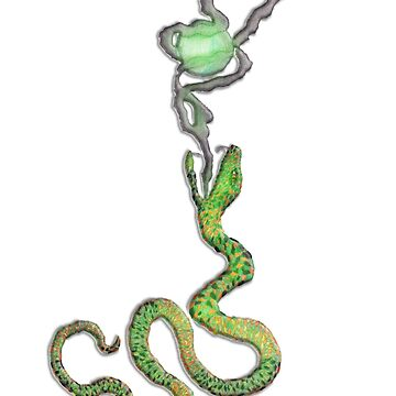 Jewled Fortune Snake by Coelina