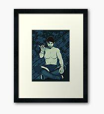 The Wrestler  Framed Print