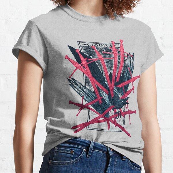 The Magpie Tarot: Ten of Swords [SUMMER MORPH] Classic T-Shirt