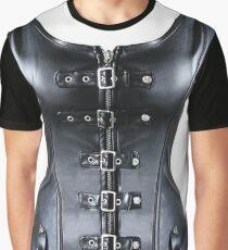 nanopunk, technopunk, victorian futurism, futurism, victorian style, victorian style art, bondage, steampunk bondage Graphic T-Shirt