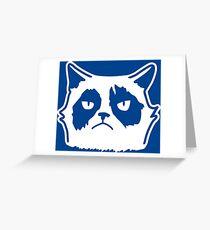 Grumpy Greeting Card