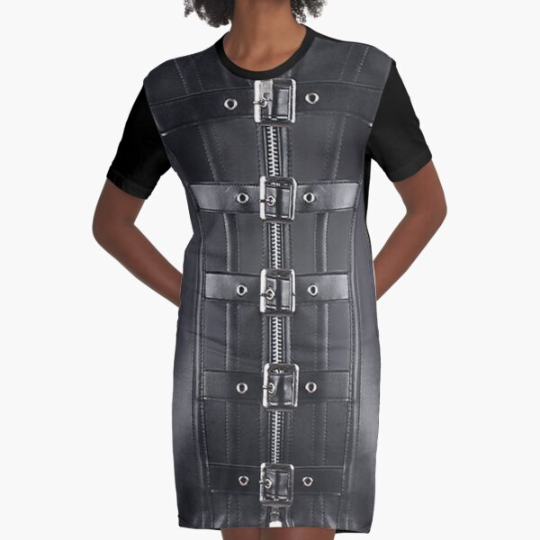 futurism, victorian style, victorian style art, bondage, steampunk bondage Graphic T-Shirt Dress