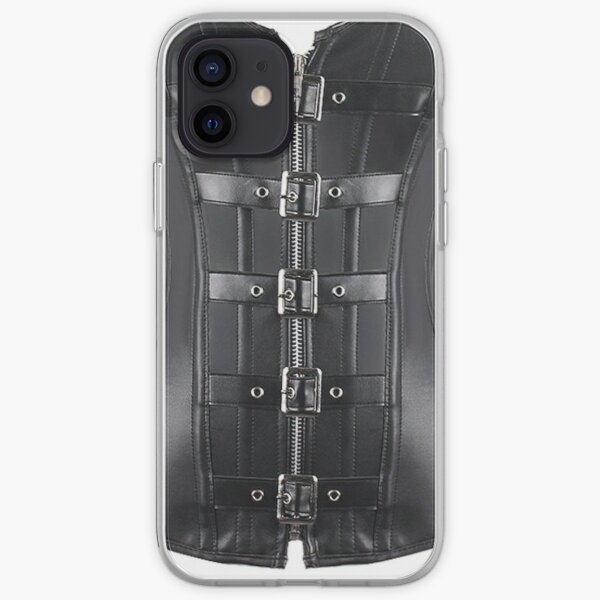futurism, victorian style, victorian style art, bondage, steampunk bondage iPhone Soft Case